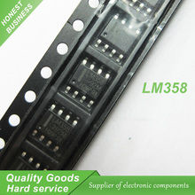 50pcs LM358 LM358DR SOP8 Operational Amplifiers - Op Amps Dual Low new original(China)