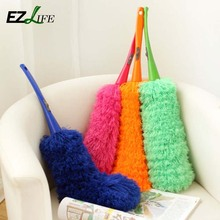 Practical New Magic Microfiber Cleaning Duster Dust Cleaner Handle Duster 	HD0214