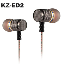 KZ-ED2 Original Professional In-ear Earphones Stereo Metal Earphone Heavy Bass Sound Quality Music auriculas fone de ouvido