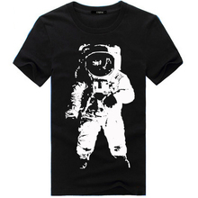 83 new spacemen picture cotton mens t shirt fashion 2015 , NASA design t shirt men O Neck Tops Tees Clothing Casual T-shirts