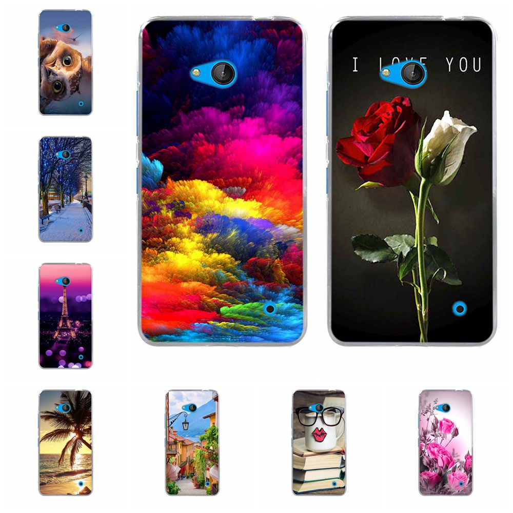 Coque for Nokia 640 Case Cover for Nokia Microsoft Lumia 640 Silicone Cell Phone Case Soft TPU Shell for lumia 640 Nokia 640 Bag(China (Mainland))