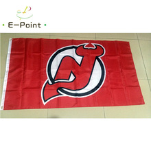 New Jersey Devils 3ft*5ft (90*150cm) Size Christmas Decorations for Home Flag Banner Gifts(China)