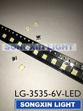600pcs LG Innotek LED LED Backlight 2W 6V 3535 Cool white LCD Backlight for TV TV Application