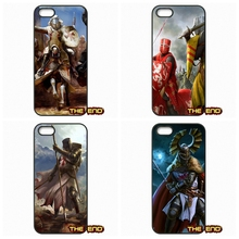 Top Strategy Games teutonic knight Mobile Phone Case Cover For iPhone 4 4S 5 5C SE 6 6S 7 Plus Galaxy J5 A5 A3 S5 S7 S6 Edge
