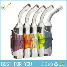 50pcs Refillable butane gas lighter creme  torch jet lighter Torch Butane lighters Flame Welding Refillable Gas Butane Lighter