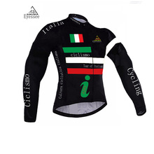 2017 Tour de Italy cycling jersey / Eyessee long-sleeve bicycle clothing / mountain MTB racing long-sleeve cycling clothing