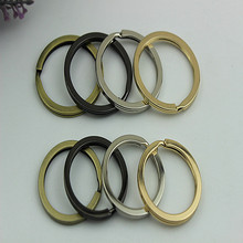 5Pcs High quality Circle Carabiner Camp Spring Snap Clip Hook Keychain Hiking Outdoor