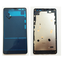 High Quality For Nokia Microsoft Lumia 535 N535 Front Housing LCD Holder Screen Front Frame Replacement