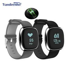Buy Tiandirenhe P2 Smart Bracelet Blood Pressure Fitness Activity Tracker Heart Rate Monitor Wristband PK MI Band 2 Android IOS for $29.88 in AliExpress store
