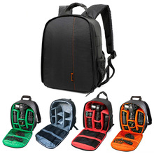 New Coloful Waterproof Multi-functional Digital DSLR Camera Video Bag Small DSLR Nikon Canon Camera Backpack for Photographer