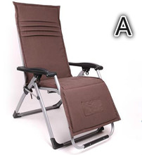 Deluxe Ergonomic chairs folding chair folding bed leisure chair beach chair(China)