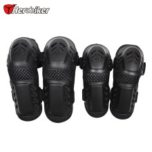 Motorcycle ATV Dirt Bike Moto MX Off-Road ATV Adult Elbow Knee Pads Sets Extreme Sports Guards Protective Gear MK102B HEROBIKER