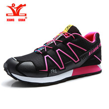 2016 New Outdoor Sports Women Trekking Shoes Breathable Mesh Sneakers Mountain Climbing Hiking Shoes zapatillas Speed Cross 3 CS