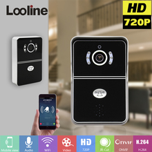 Wifi Doorbell Doorphone With 720P Camera Video Intercom Wireless IP Door Phone Door Bell Interphone Visiophone Motion Detection