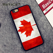 MaiYaCa Canada National Nation Flag Phone Case Fundas For iphone 6 6s case Coque For iphone 6 6s Fitted Case Back Cover