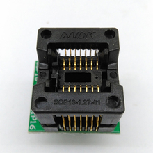 SOP14 SOIC 14 SO14 to DIP14 Programming Socket Pitch 1.27m IC Body Width 3.9mm 150mil Flash Test Socket Adapter