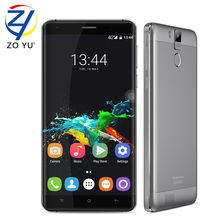 Oukitel k6000 pro Android 6.0 Smartphone 4gLTE Mobilephone 3G+32G 16.0MP 5.5HD MT6753 1.3ghz 6000mAh 2GDual SIM Cards Cell phone(China)