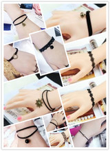 New Ethnic Wind Fashion Creative Lace Bracelet Korean Simple Vintage Boheme Flowers Bracelets & Bangles For Woman Charms Jewelry