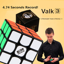 Professional game 3 order cube Speed Puzzle Cube Valk 3 Professional Funny Toys Cube Toy Educational Toy For Children(China)