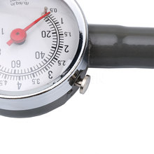 IZTOSS 0 to 100 PSI Pointer Car Dial Tire Gauge Meter Precision Pressure Tyre Measure Metal(China)