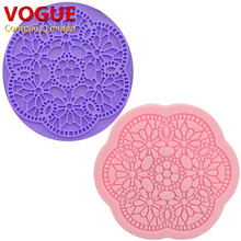 3D flower lace mold cake decorating tools fondant cake decorations tools  N1771