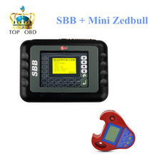 Wholesale SBB Key Pro Add Smart Zed-Bull Key Programmer No Tokens Limitation Key Programmer Smart Mini Zedbull Zed Bull(China)