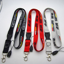 MUGEN RA RZ RR racing Car Auto Lanyard for MP3/4 cell phone key chain Team neck lanyard ID Holder gift