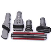 Multi-Purpose Suction Nozzle Brush Head 4-In-1 Set For Dyson Vacuum Cleaner Parts