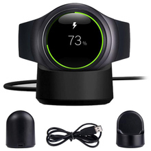 Wireless Charging Dock Cradle Charger Smartphone For Samsung Gear S2 720 730 732 Classic With USB Charging Cable Suppion