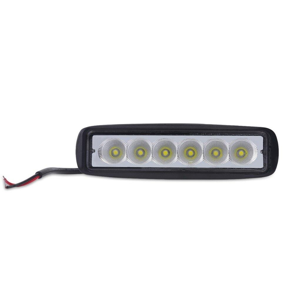 1pcs black housing spot flood offroad 18W LED off road work lamp 18w LED worklight lamp 12V/24V for trucks ATV 4X4 Car tractor<br><br>Aliexpress