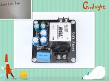 Power soft start board high power high current relay suitable for a class amplifier Finished plate