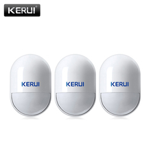 Buy 3ps/5ps KERUI Wireless PIR Detector Infrared Detector Home Security GSM Alarm Systems 433MHz PIR Motion Sensor indoor for $31.00 in AliExpress store