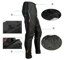 Santic Men's Windproof Cycling Ride Trousers Fleece Thermal Wind Winter Pants Tights-James