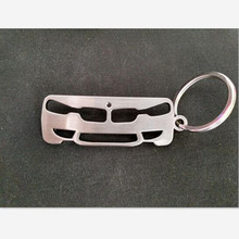 2017 New arrival Fashion Zinc Alloy Metal Car Keychain Key Chain Key Ring Keyring For BMW 3 Series Key Holder(China)