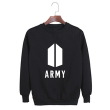ALIPOP KPOP Korean Fashion BTS Bangtan Boys 2017 New Album AMRY Logo Cotton Hoodies Pullovers Sweatshirts PT554