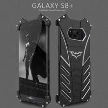 R-JUST Original for Samsung Galaxy S8/S8 Plus Case Batman Aluminum Metal Shockproof Back Cover for Samsung Galaxy S8 Plus / S8