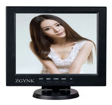 12 inch industrial computer security LCD monitor BNC HDMI VGA hd interface