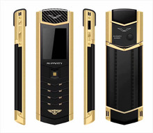 MParty LT2 Luxury Phone With Dual SIM Card Cartoon 1.8 Inch Luxury Mini Metal Body Sports Car Phone SD002(China)