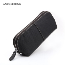 ANTS STRONG soft cortex cosmetic bag/woman clutch bags travel portable storage multi-purpose package