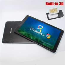 Ultra Slim Windows 8.1 Tablet PC 10.1'' IPS Screen Quad core Dual cameras 1280*800 1G/16G WiFi Bluetooth HDMI
