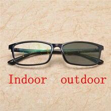 Gafas de lectura multifocales progresistas para hombres lentes de lectura  presbicia hiperopía bifocales gafas de sol fotocrómica. 7e8cf2567d