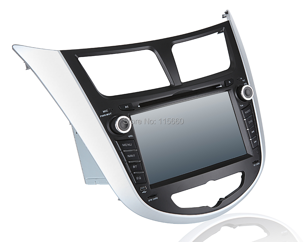Car DVD GPS for Hyunda Verna-Solaris-Accent A2