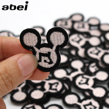 10pcs/lot Top Cartoon Patches Iron on Embroidered Cute Appliques for Clothing Bags Jeans DIY Sewing Fabric Stickers Supplier