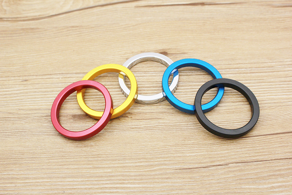 QRTA multiple Colour Space aluminum Penis Rings Cock Ring Adult Products Delay Male Masturbation Health Fun Happy Sex Toys 7