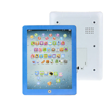 2017 New Hot sales Child Touch Type Computer Tablet English Learning Study Machine Toy for Children kids Toy D30(China)
