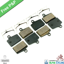 Bicycle Disc Brake Pads for Hayes Dyno, Stroker Ryde Disc Brake, Black RESIN, 4 Pairs, Free Postage(China)