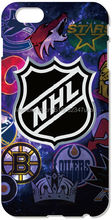 Retail NHL team Logo Cell Mobile Phone Case Plastic Hard Cover For iphone 4 4S 5 5S SE 5C 6 6S 7 Plus For iPod Touch 4 5 6 Cases