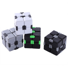 Infinity Cube Fidget Cube Stress Relief Magic Hand Out Door Game Toys Cube Adult Children Toy Gift(China)