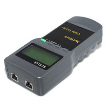 CAT5 RJ45 Network Cable Tester Meter Length SC8108 network tester cable tester(China)