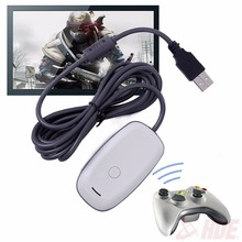 USB PC Wireless Controller Gaming Receiver Adapter For Microsoft for Xbox360 XBOX 360 Controller Receiver for Windows XP/7/8/10(China)